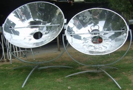 Solar Cookers Off the grid sunlight cooking