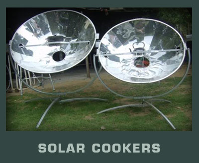 Durban Solar Cooker Cooking with solar